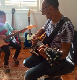 Children's Guitar Lessons Eastern Suburbs